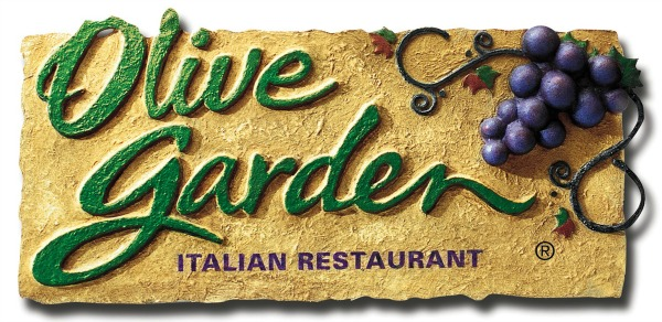 Olive Garden Buy One Take One Menu