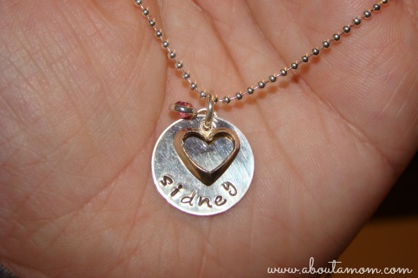 Something About Silver Open Heart Necklace