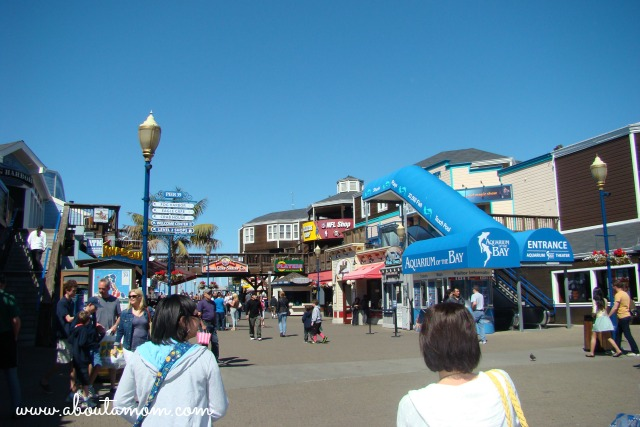 Travel to San Francisco Pier 39