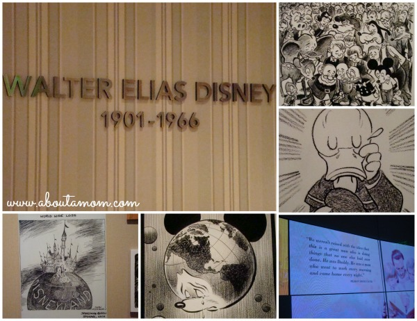 Walt Disney Family Museum Tribute Collage