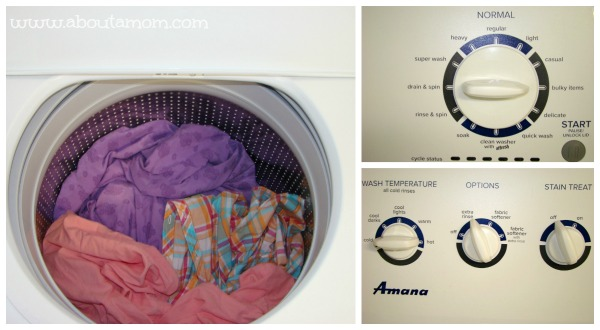 Save Energy, Money, and Time with Amana Laundry - About A Mom