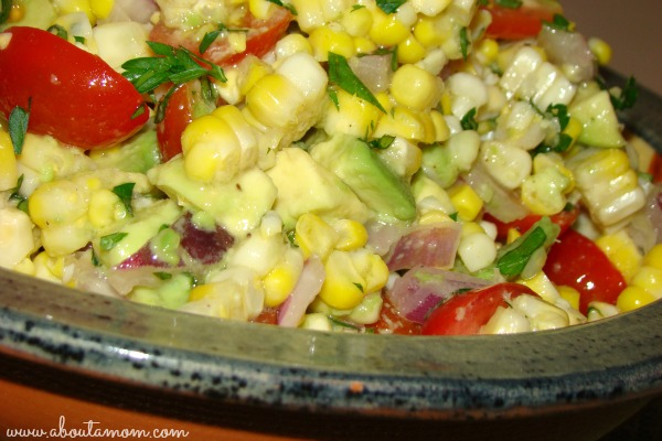 Corn Tomato and Avocado Salad Recipe