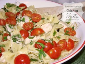 Mediterranean Chicken Pasta Recipe