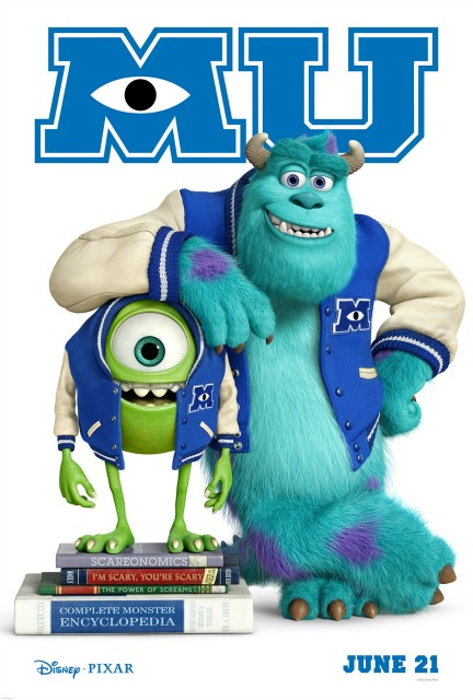Monsters University Poster 2