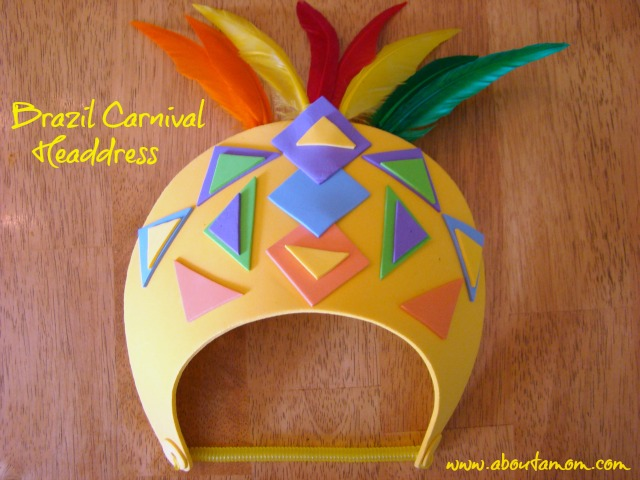 Brazil Carnival Headdress: Summer Crafts for Kids at Michaels