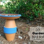 DIY Garden Bird Bath Project