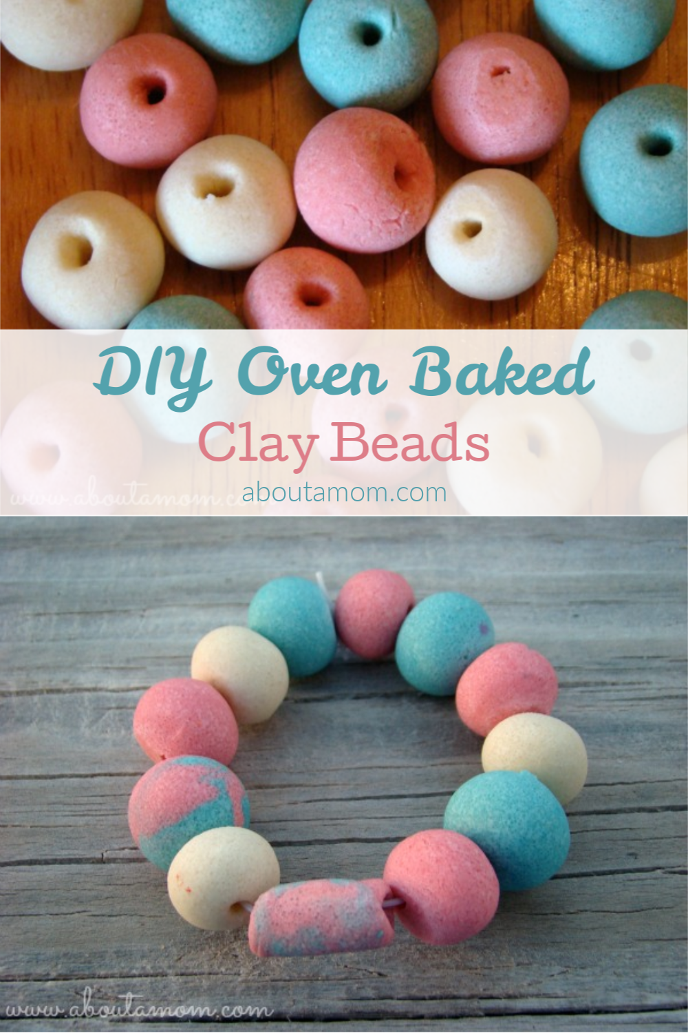 Are you feeling the pressure to come up with activities to keep the kids busy this summer? These DIY oven baked clay beads are a terrific summertime boredom buster, and is the perfect activity for a hot day when you want to stay indoors.