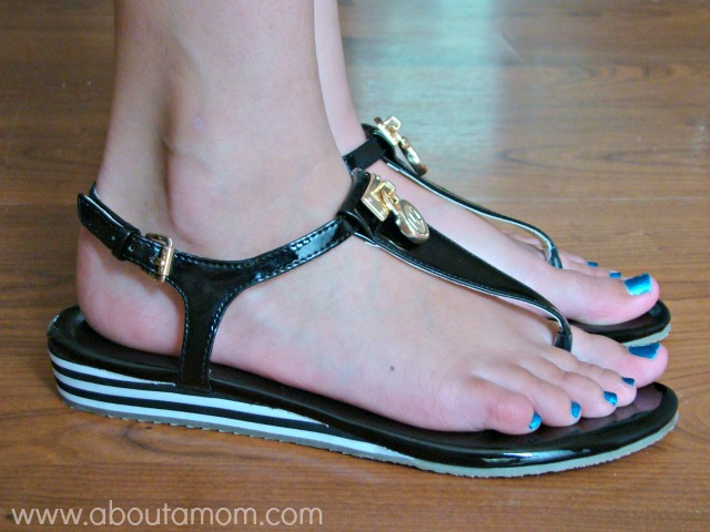 MICHAEL Michael Kors Hamilton Girls T-Strap Sandal