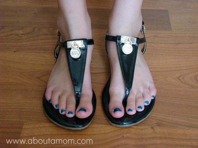 Michael Kors Sandals Black Michael Kors Girls Sandals