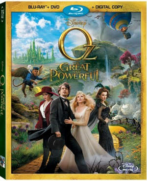 Oz the Great and Powerful on Blu-ray