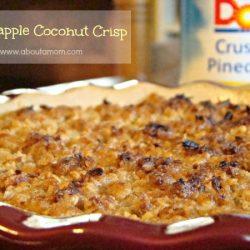 Pineapple Coconut Crisp Dessert Recipe
