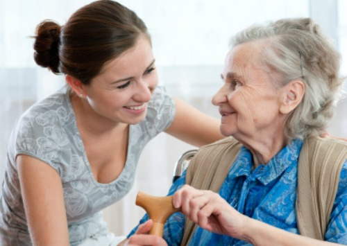 Describe the difficulties and rewards of being a carer for a family member