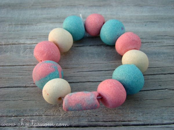 Summertime Crafts for Kids DIY Oven Baked Clay Beads