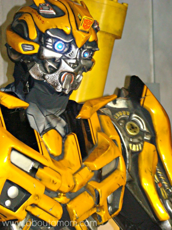 TRANSFORMERS the Ride 3D Bumblebee
