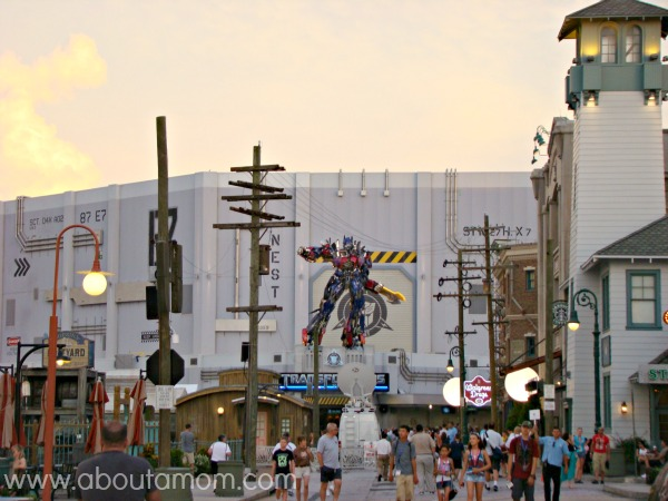 TRANSFORMERS the Ride 3D at Universal Studios Orlando