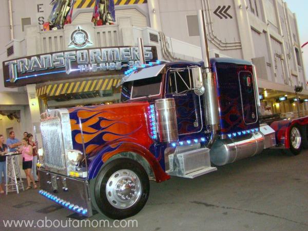 Transformers the Ride 3D Universal Orlando