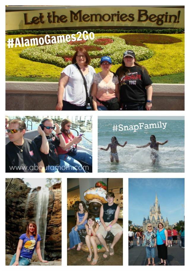 Alamo Games 2 Go Snap Family