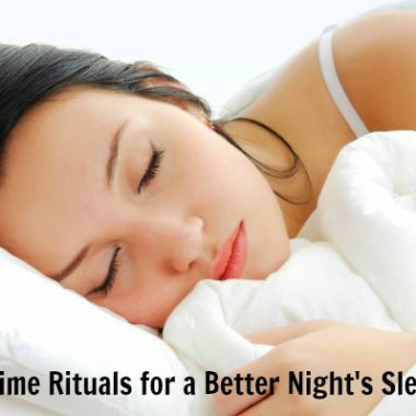 Bedtime Rituals for a Better Night's Sleep - Nature's Sleep