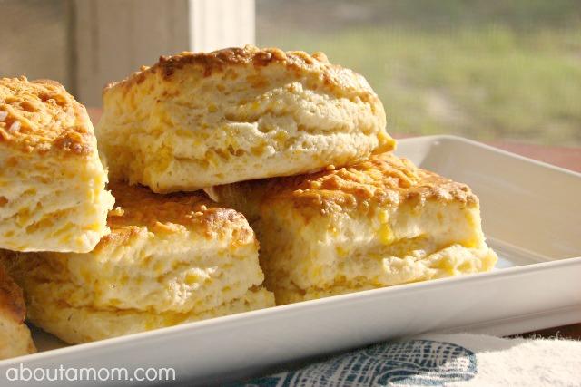 Best Buttermilk Cheddar Biscuits Recipe - About A Mom