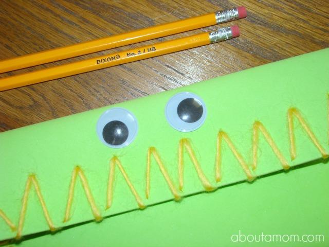 Monster Pencil Case Crafts for Kids