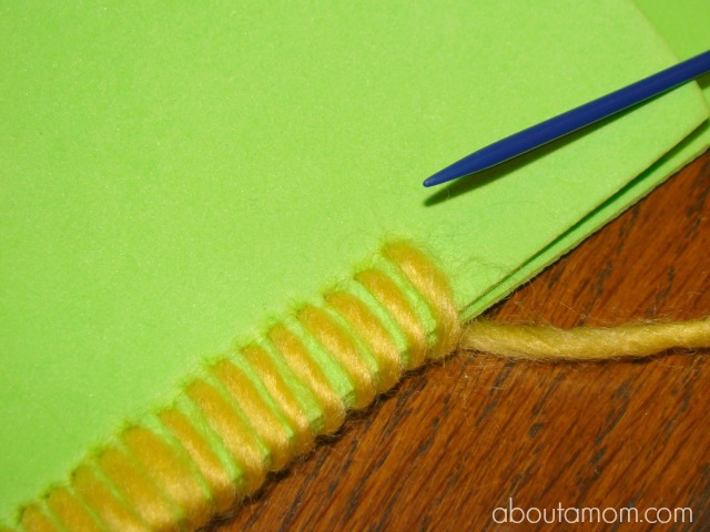 Monster Pencil Case Step 3