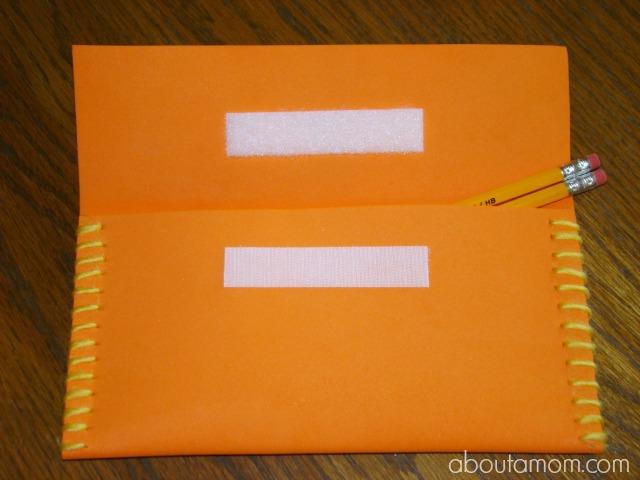 Monster Pencil Case Step 4