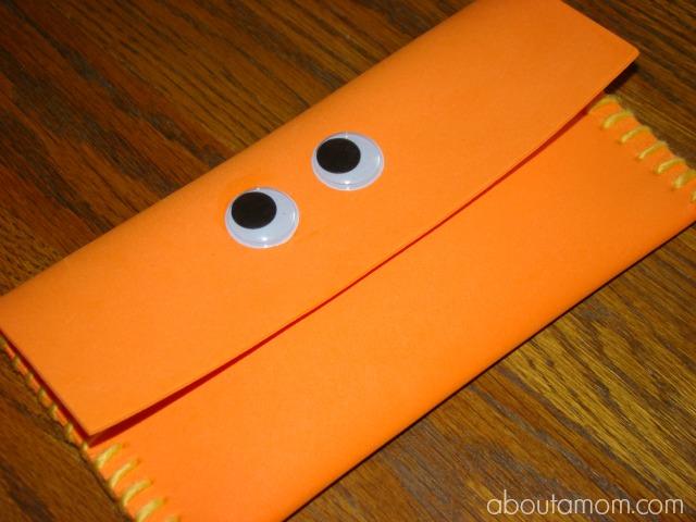 Monster Pencil Case Craft for Kids