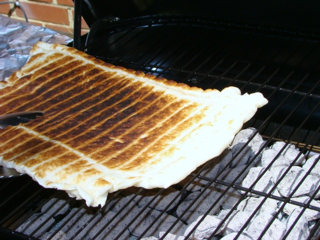 Perfectly Grilled Pizza
