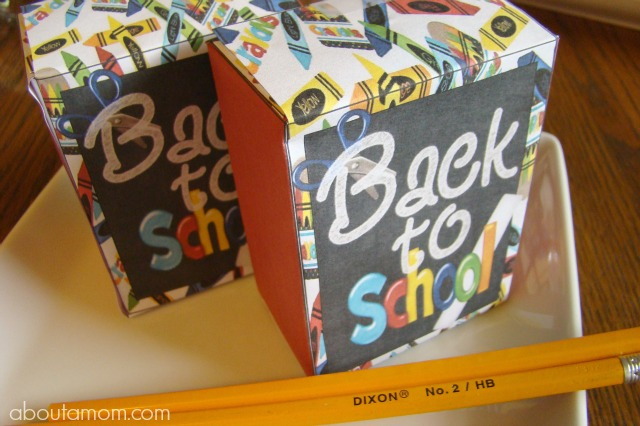 Back to School Party Printables - Treat Bags