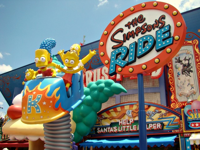 Experience The Simpsons at Universal Orlando - The Simpsons Ride