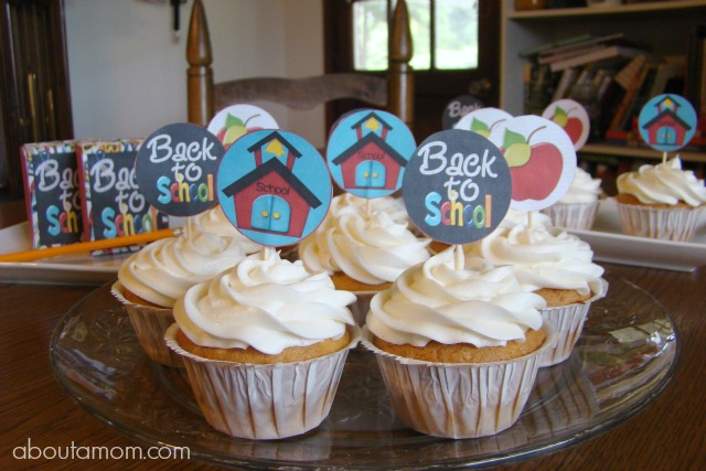 Free Back to School Party Printables - About A Mom
