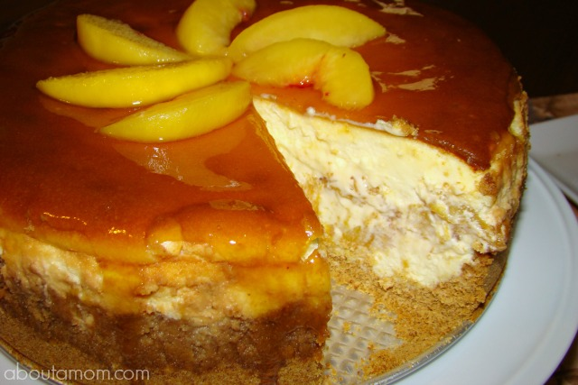 Fresh Peach Cheesecake Recipe About A Mom