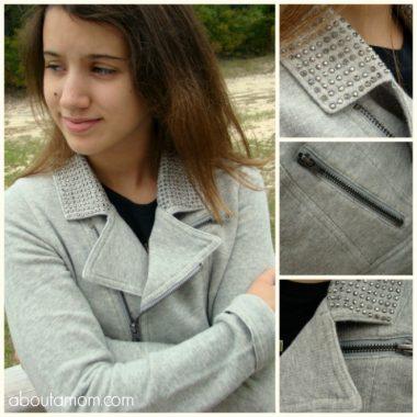 PS from Aeropostale Jeweled Fleece Jacket