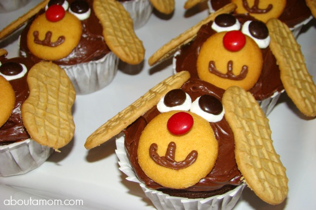 Puppy Party Ideas - Puppy Cupcakes
