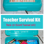 Teacher Survival Kit - A Back to School Teacher Gift