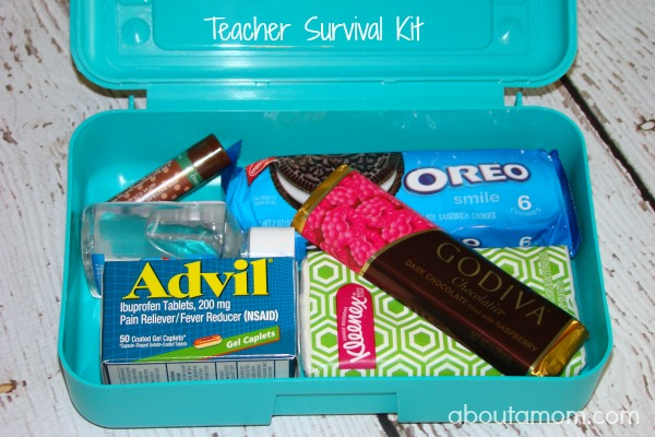 Teacher Survival Kit - Teacher Back to School Gift