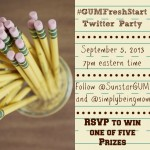 Sunstar GUM #GUMFresh Twitter Party