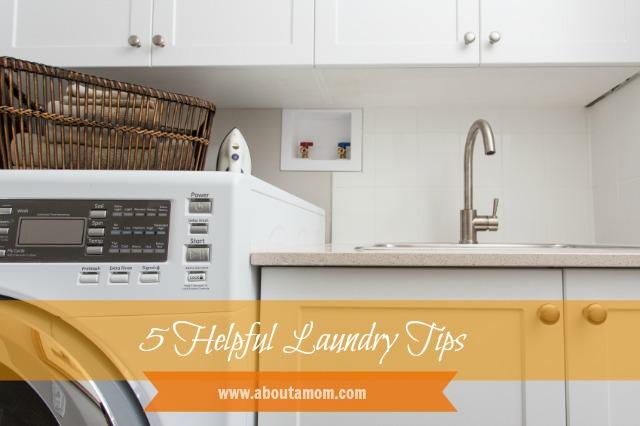 5 Helpful Laundry Tips