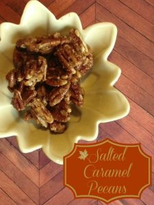 Salted Caramel Pecan Recipe