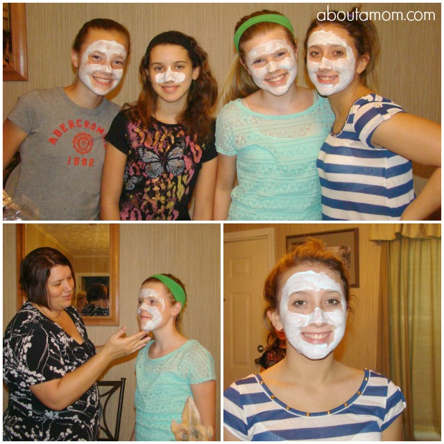 Back to School Spa Party for Tweens and Teens with Clean & Clear Products