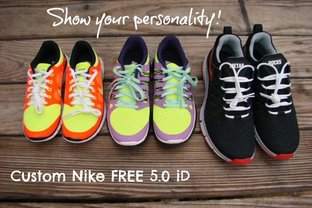 on sale 2b10f ce34b Getting Active with NIKE Free 5.0 iD  FreeYourMoves
