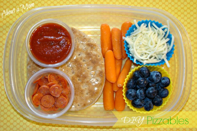DIY Pizzables Bento for Kids