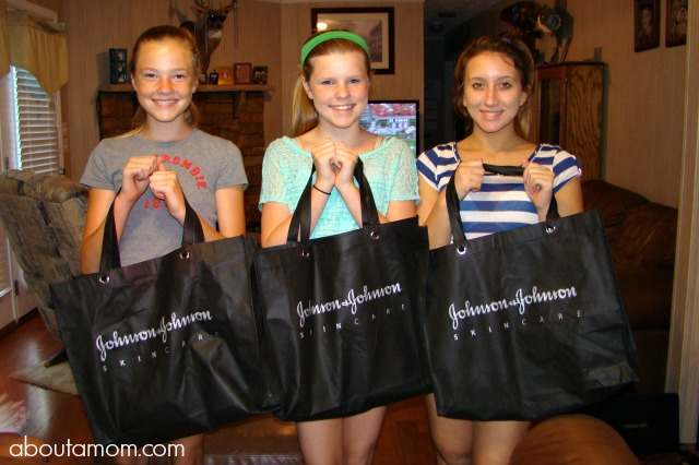 Back to School Spa Party for Teens with Johnson & Johnson