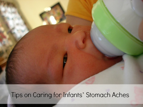 Tips on Caring for Infants' Stomach Aches