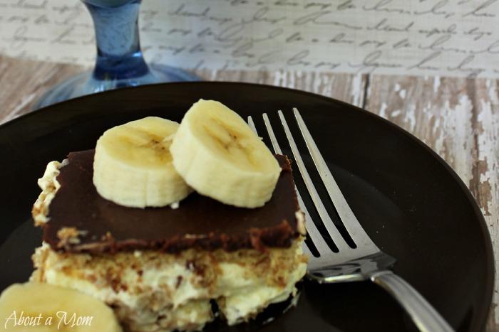 No Bake French Vanilla Chocolate Eclair Dessert Recipe