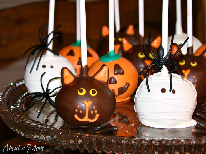 Halloween Cake Pop Decorating Ideas : Easy Decorating Cake Pops