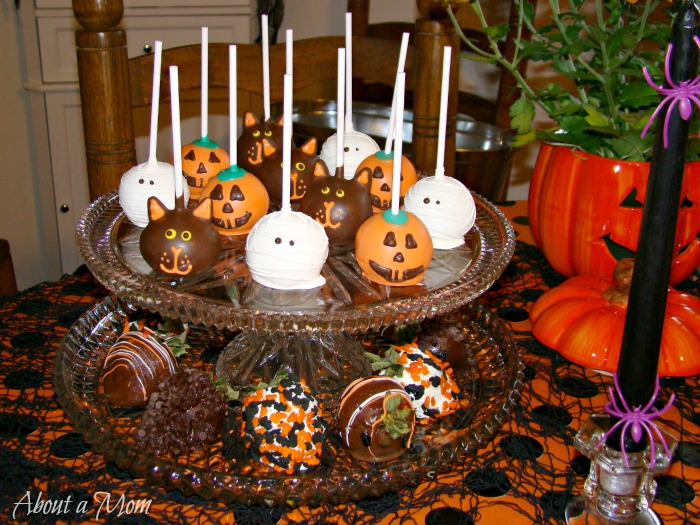 Halloween Cake Pop Decorating Ideas Handmade Halloween Cake Pops