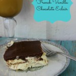 No Bake French Vanilla Chocolate Eclair at AboutAMom.com