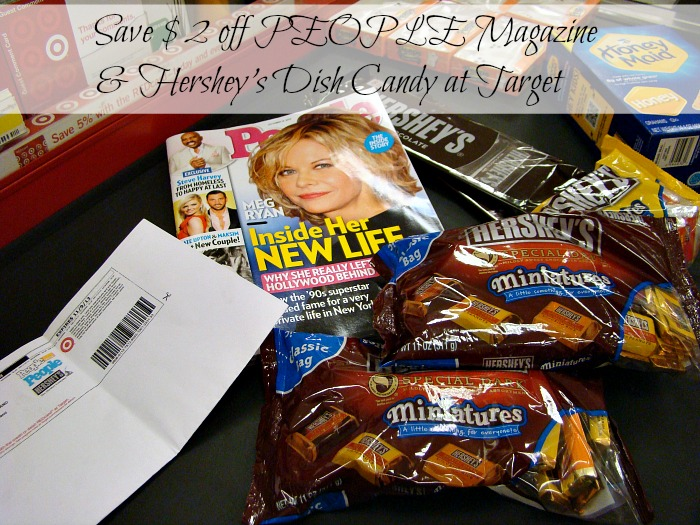 Save $2 on PEOPLE Magazne and Hershey's Dish Candy at Target