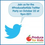 Produce for Kids Twitter Party